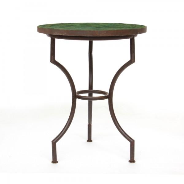 runder Tisch, olivgrün, Ø 90 cm, H 75 cm