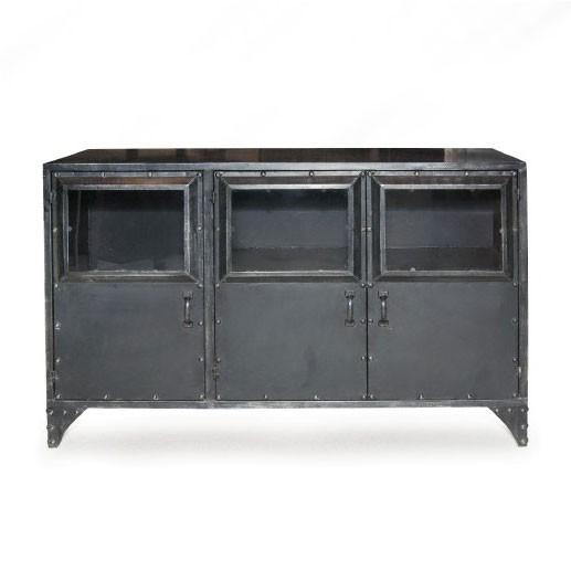 "Metallschrank ""Essex"", mit 3 Türen, L 35 cm, B 100 cm, H 60 cm"
