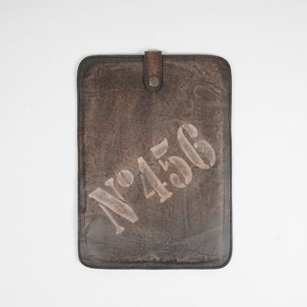 "iPad Tasche ""No 456"", beige, L 25 cm, B 30 cm"