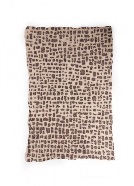 """Geschenkpapier """"Leopard"""", handgeschöpft, L 45 cm, B 70 cm"""