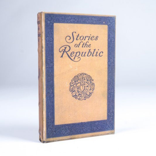 "Buch-Tresor ""Stories of the Republic"", L 3 cm, B 14 cm, H 21 cm"