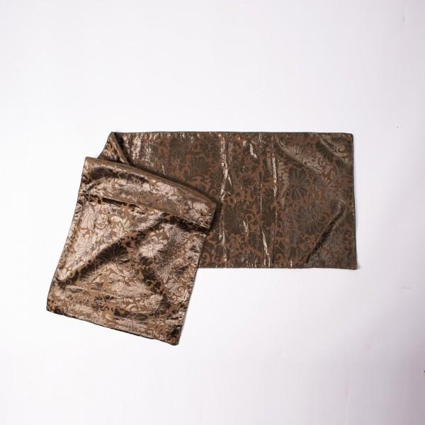 """Tischläufer """"Velvet"""", braun, L 150 cm, B 40 cm"""