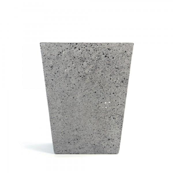 Übertopf 'Esbjerg', grau, B 30 cm, L 30 cm, H 40 cm