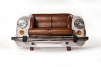 Sofa 'Ambassador Classic', Front, 2-Sitzer, weiß, L 70 cm, B 158 cm, H 83 cm