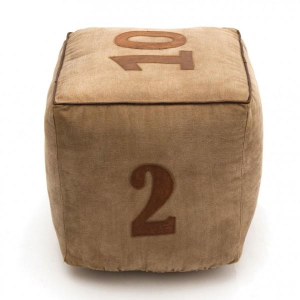 Sitzwürfel 'Pasa', L 40 cm, B 40 cm, H 40 cm