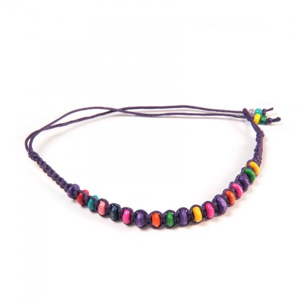 Armband 'Julien', aus Baumwolle, multicolor