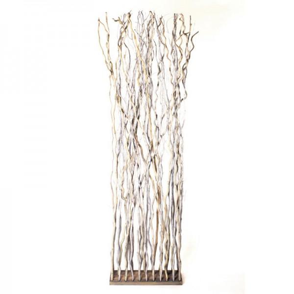 Raumteiler aus Weide, B 50 cm, H 180 cm