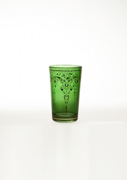 Teeglas, hellgrün