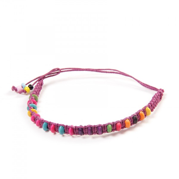 "Armband ""Felix"", aus Baumwolle, multicolor"