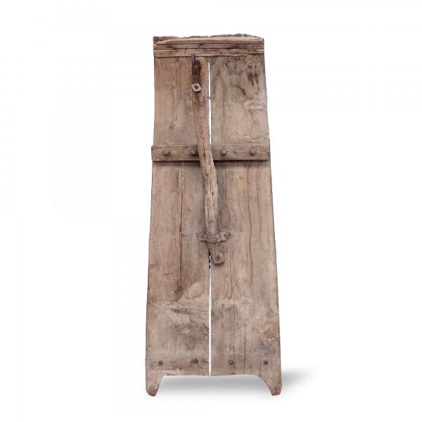 Drescher antikes Pinienholz, natur, T 50 cm, B 10 cm, H 170 cm