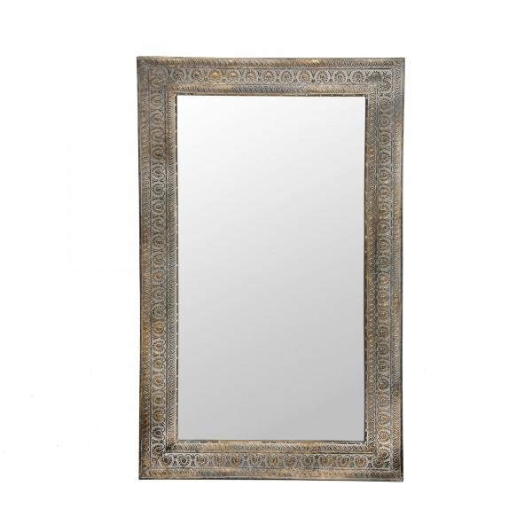Spiegel 'Goran', metall antik, T 4 cm, B 62 cm, H 99 cm