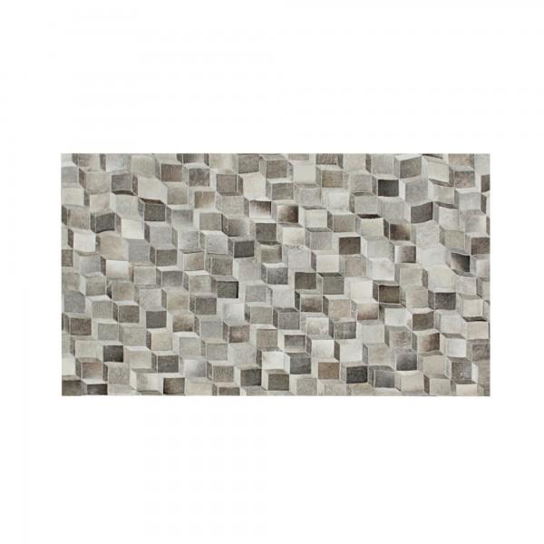 Teppich 'Harris', braun, weiß, T 140 cm, B 200 cm