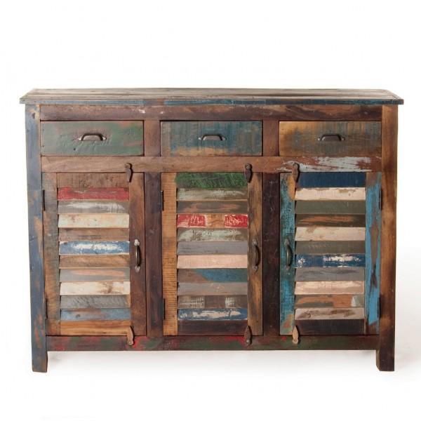 """Sideboard """"Jarrow"""", multicolor, L 40 cm, B 120 cm, H 90 cm"""