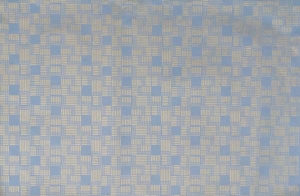 Geschenkpapier, blau gold, L 76 cm, B 51 cm