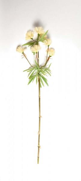 Kunstpflanze 'Bambusgras Halm', gelb, H 120 cm