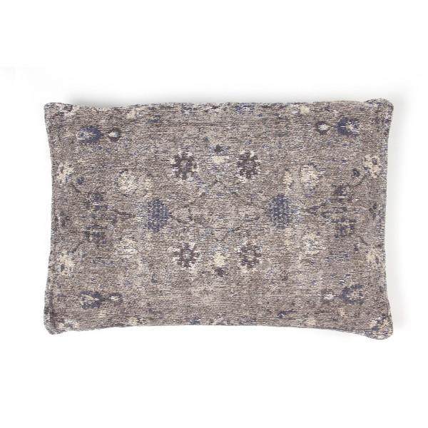 Kissen 'Azam', weißblau, T 40 cm, B 60 cm, H 0 cm