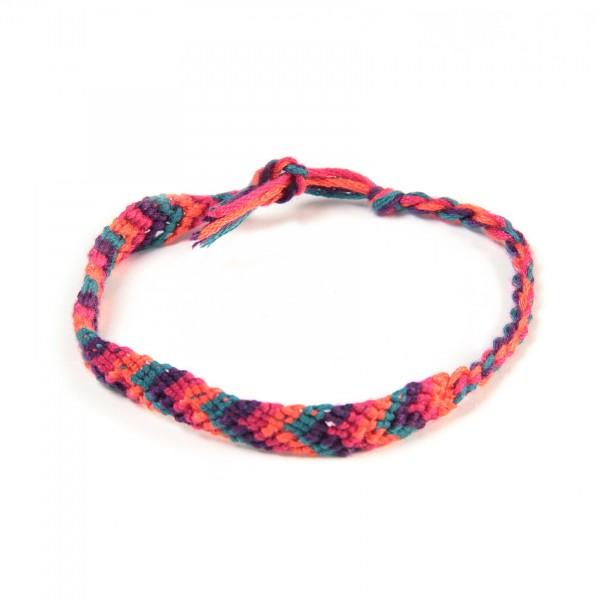 Armband 'Oskar', aus Baumwolle, multicolor