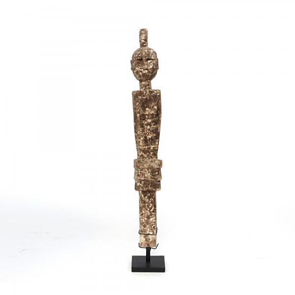 Kadauma Statue auf Ständer, natur, T 10 cm, B 10 cm, H 84 cm