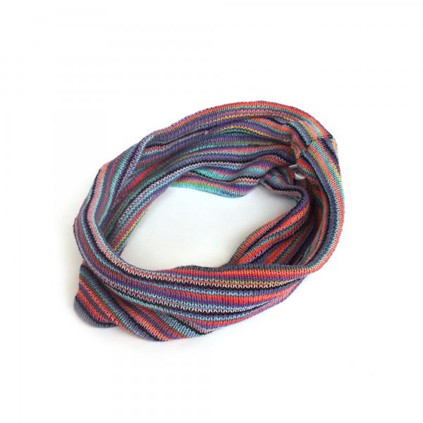 Stirnband, lila, blau, gelb, Ø 20 cm, H 20 cm