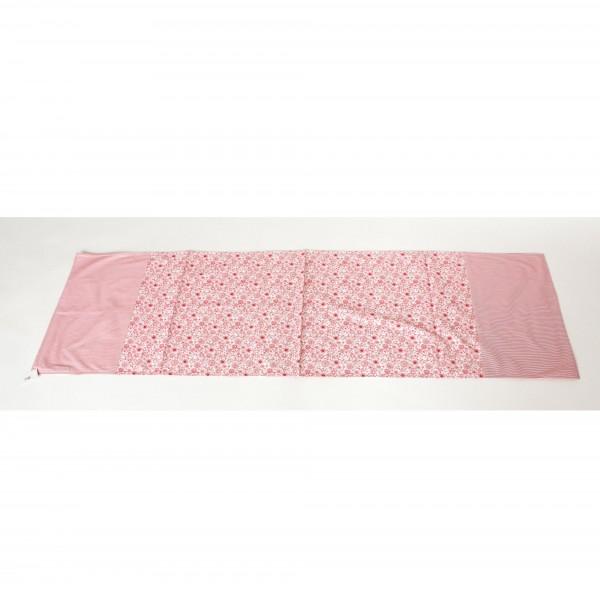 """Tischläufer """"Lisa"""", rot/weiß, L 150 cm, B 45 cm"""