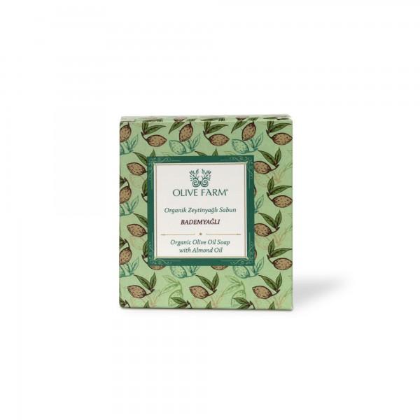 Olivenölseife mit Mandelöl 90 g