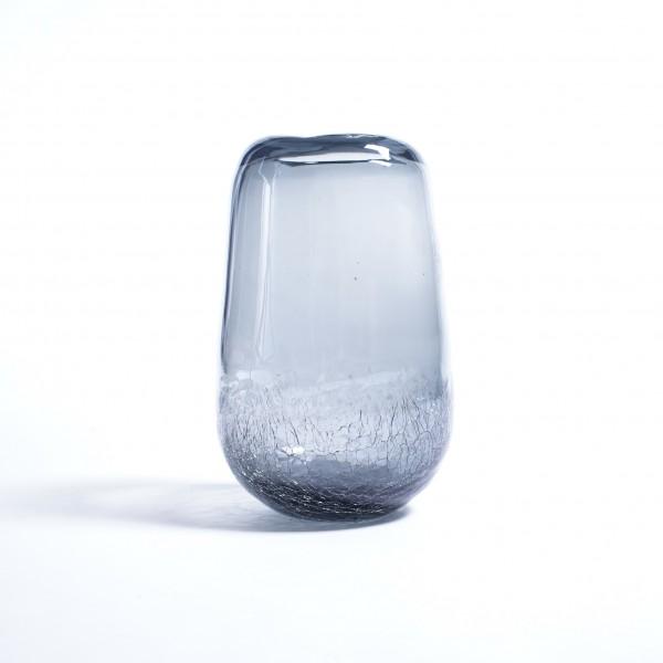 Glasvase, klar, Ø 15 cm, H 25 cm