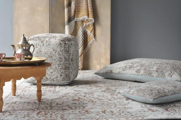 Teppich 'Malik', altblau, T 170 cm, B 240 cm