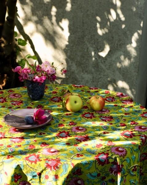 Tischdecke, multicolor, T 100 cm, B 100 cm, H 1 cm