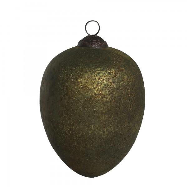Anhänger Olive, grün, T 15 cm, B 15 cm, H 15 cm