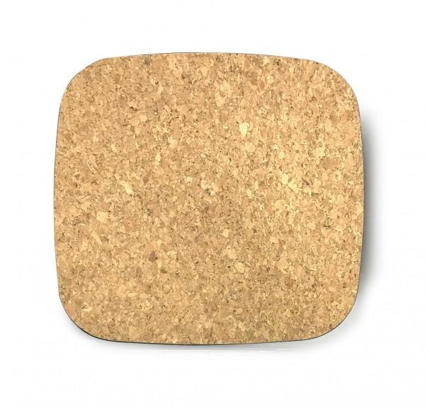 Korkablage quadratisch, T 32 cm, B 32 cm, H 2 cm