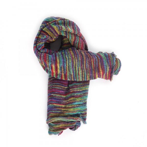 Magic Infinity Scarf, regenbogenfarben, T 80 cm, B 60 cm
