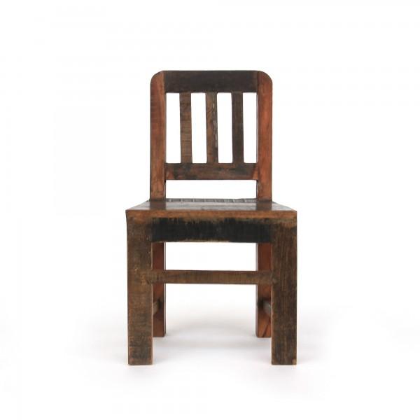 Stuhl Holz, natur, T 34 cm, B 31 cm, H 60 cm