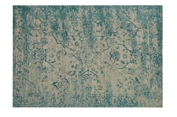 Teppich 'Lali', cremeweiß, grüntöne, T 140 cm, B 200 cm