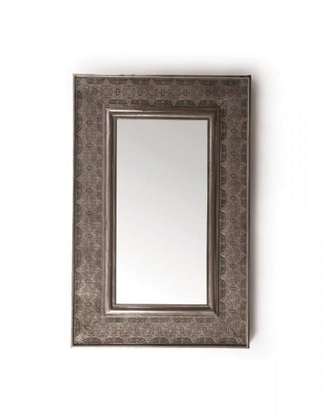 Spiegel 'Mangalo', grau-metallisch, T 4 cm, B 56 cm, H 85 cm