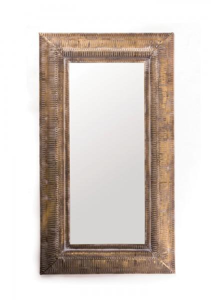 Spiegel 'Karkoo', messing, T 6 cm, B 73 cm, H 131 cm