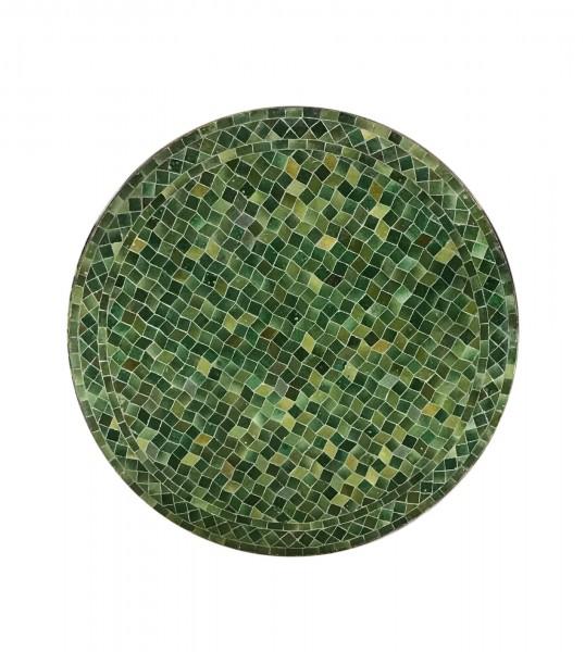 Mosaiktisch rund, oliv, Ø 90 cm, H 76 cm