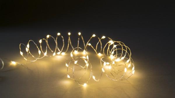 Lichterschnur 'Greville', 50 LED, 265 cm