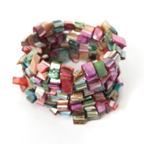 "Armband ""Spirale"", multicolor"