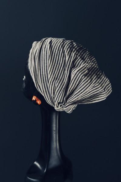 Haarband 'San Francisco', aus 100% Baumwolle, grau