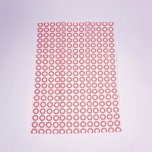 """Geschirrtuch """"Ringe"""", aus 100% Baumwolle, L 70 cm, B 50 cm"""