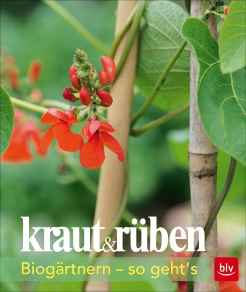 Buch 'kraut & rüben - Biogärtnern - so geht's'