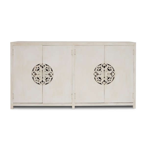 Sideboard 'Sukomvit', weiß, L 40 cm, B 150 cm, H 80 cm