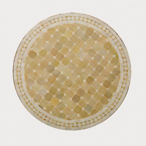 runder Tische, beige, H 75 cm, Ø 120 cm