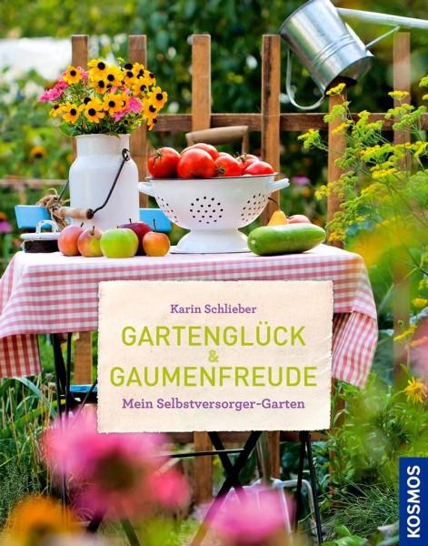 Buch 'Gartenglück und Gaumenfreude'