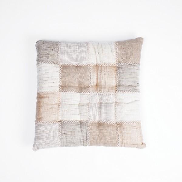 "Kissen ""Wheat"", braun/beige, L 40 cm, B 40 cm"