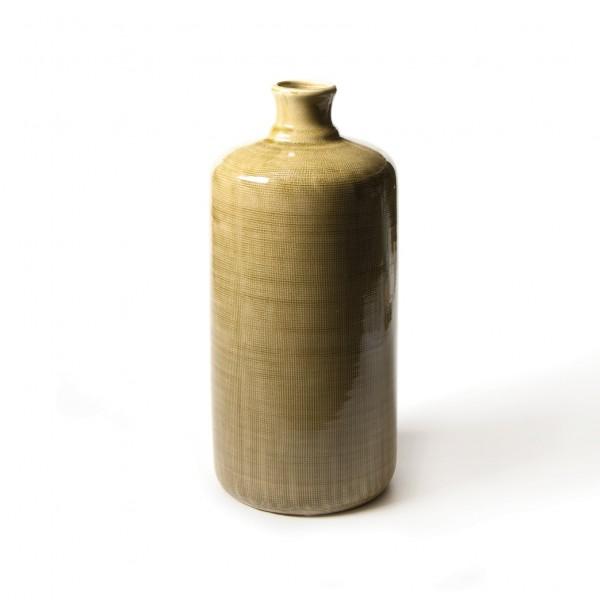 """Vase """"Celio"""", senf, H 40 cm, Ø 18 cm"""