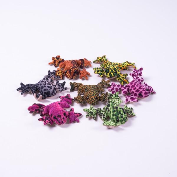 Sandtier 'Frosch' S, multicolor, L 6 cm