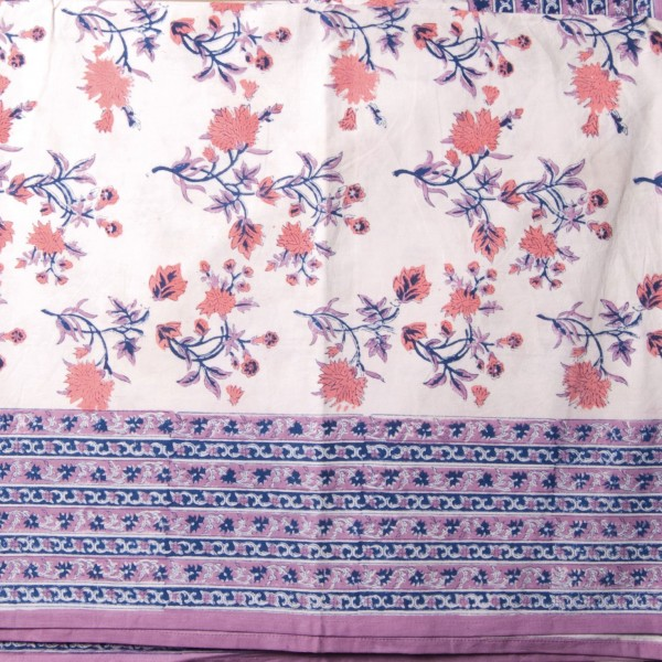 "Multifunktionstuch ""Rampur"", lila/rosa, L 260 cm, B 220 cm"