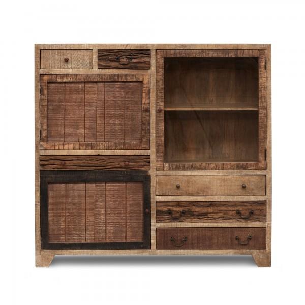Hochboard 'Codol', natur, T 40 cm, B 149 cm, H 148 cm