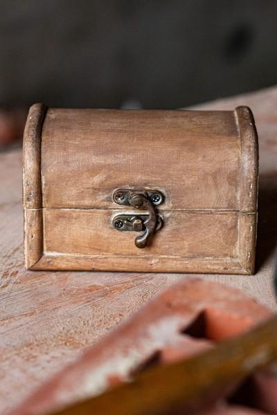 Holzbox 'Solango', natur, T 13 cm, B 8,5 cm, H 8 cm